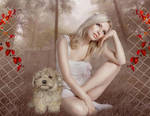 I can not imagine heaven without dogs by vivi-art