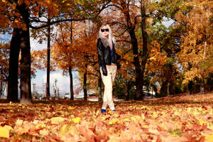 Ms. Autumn by RasmusLuostarinenArt