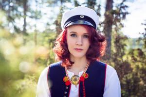 Graduation Portrait by RasmusLuostarinenArt