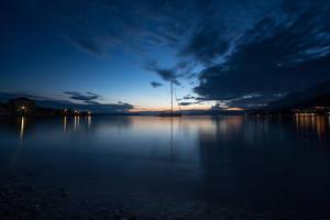 Blue moment by RasmusLuostarinenArt