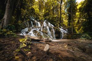 The Waterfall by RasmusLuostarinenArt