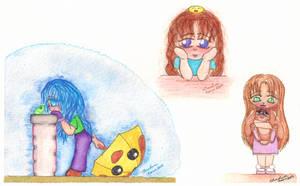 Little Girls by silverluna