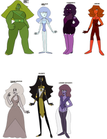 Gemsona Adopts 2 (( OPEN)) by Asexual-Senpai