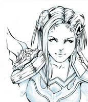 World of Warcraft-Draenei pala by fayechan