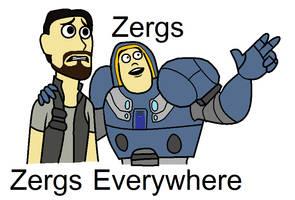 Zergs everywhere by ZergRex