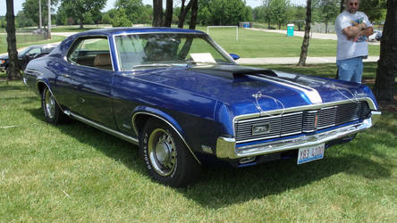 1969 Mercury Cougar by sfaber95