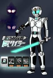 New original Rider - Kamen Rider Styler by Malunis
