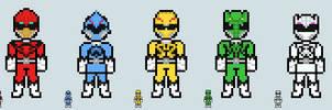 Chibi Ranger sprite - Zyuohger by Malunis
