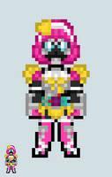 Chibi Rider sprite - Poppy (TokiMeki Crisis Gamer) by Malunis