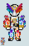 Chibi Rider sprite - Build (Genius Form) by Malunis
