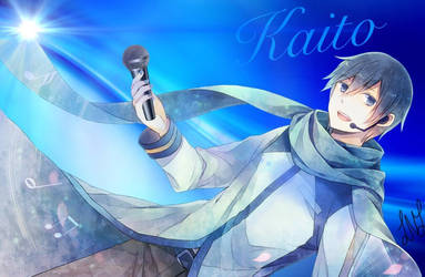 Kaito Wallpaper - 11/15/15 by VictoriaSlaughter95
