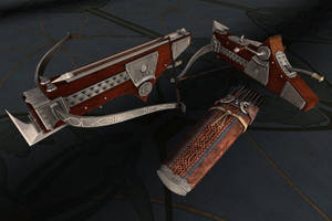 Dwarven Crossbow by heidifury