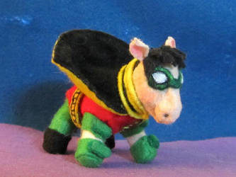 Robin Tim Drake Pony 1 by HELENDRAGON