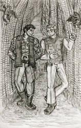 Star Trek Fic Illustration Oo De Lally 1 by HELENDRAGON