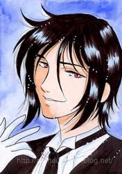 Black Buttler : Sebastian by ladyorpheus
