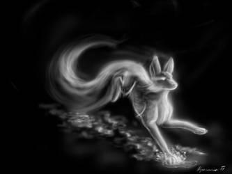 Spirit fox by Kyasanuri