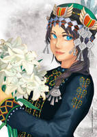 Princess Balen by VanderLans