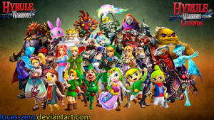 Hyrule Warriors Wallpaper by Lucas-Zero