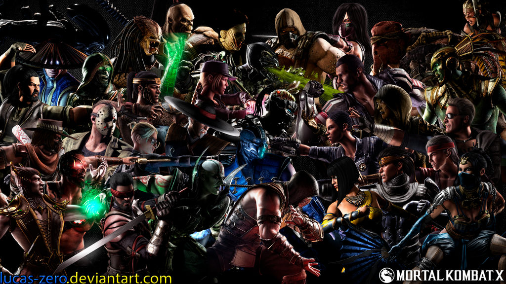 Mortal Kombat X Wallpaper By Lucas Zero On Deviantart