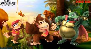 Donkey Kong Super Smash Bros. Ultimate Wallpaper by Lucas-Zero