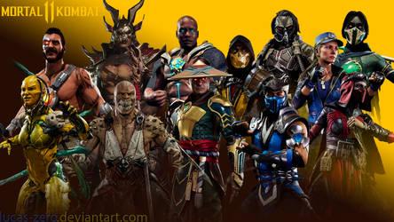 Mortal Kombat 11 Wallpaper by Lucas-Zero