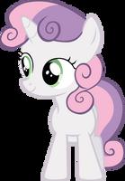 Sweetie Belle Vector #1 by EbonTopaz