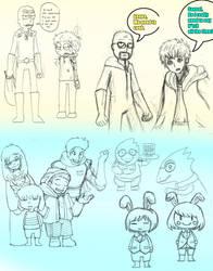 Masteryeah's Randem Doodle Crap 2016 #1 by MasterOhYeah