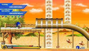 (Sonic vs Darkness TNR) Sunlight Paradise Mockup by Kainoso