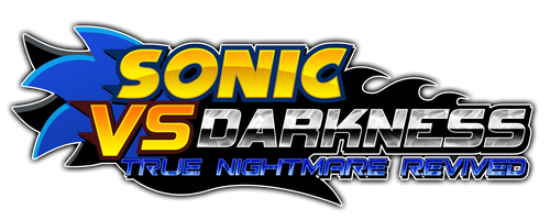 Sonic vs Darkness T.N.R. Logo [V2] by Kainoso
