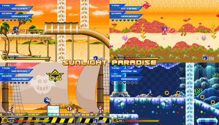 (Sonic vs Darkness TNR) Sunlight Paradise by Kainoso