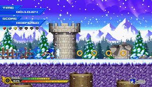 (Sonic vs Darkness TNR) Winterpeak Valley Mockup by Kainoso