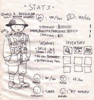 STAT PAGE by DoodleWarfare