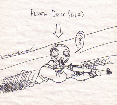 Duck, reload by DoodleWarfare