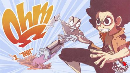 Ohm episode 3 on Spunch Comics! by Rafchu