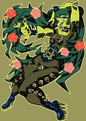 Monster girls challenge : Cactus Girl by Rafchu
