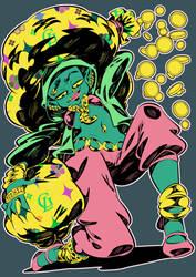 Monster girls challenge : Goblin by Rafchu