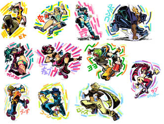 Jet Set Radio prints available! by Rafchu