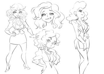 Pansy sketches by Rafchu