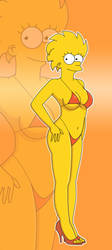 Lisa Bikini by PervyAngel