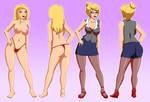 Vanessa Model Sheet by PervyAngel