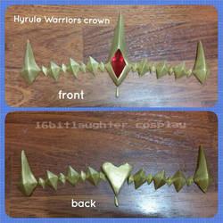 WIP Hyrule Warriors Crown by GothLoliChanKaru