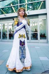 First Revamped Zelda debut! by GothLoliChanKaru