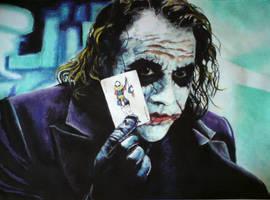 The Joker by GabrielGrob