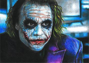 Heath's Joker by GabrielGrob