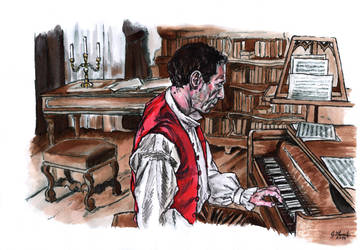 Composer Salieri by GabrielGrob