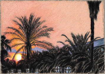 Sunset by GabrielGrob
