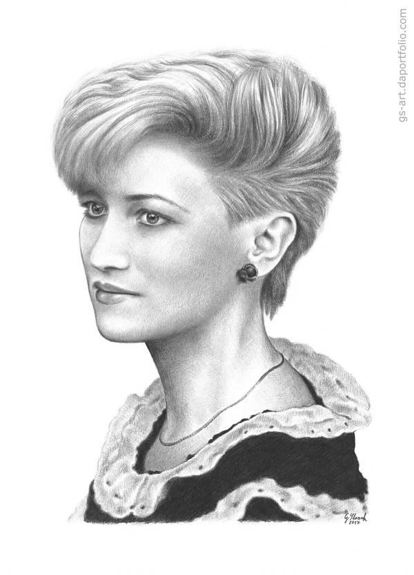 Portrait of Sonia by GabrielGrob