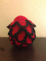 Black Rose Dragon Egg by BlackRose2172