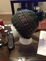 Hogwarts House Hat- Slytherin by BlackRose2172