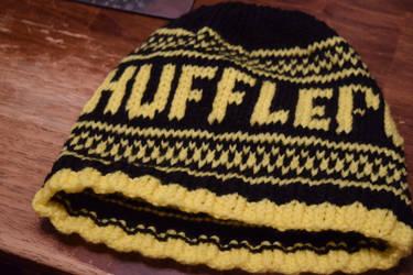 Hufflepuff House Hat by BlackRose2172